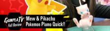 Pokemon Plamo Quick!! Pikachu & Mew