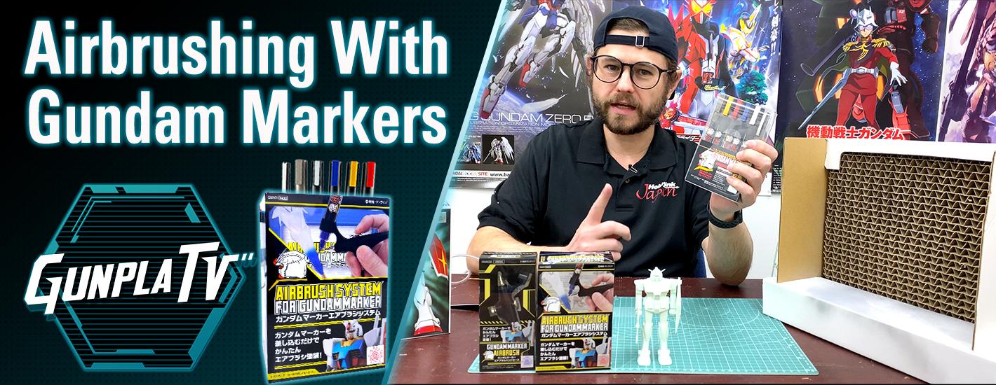 Airbrushing With Gundam Markers