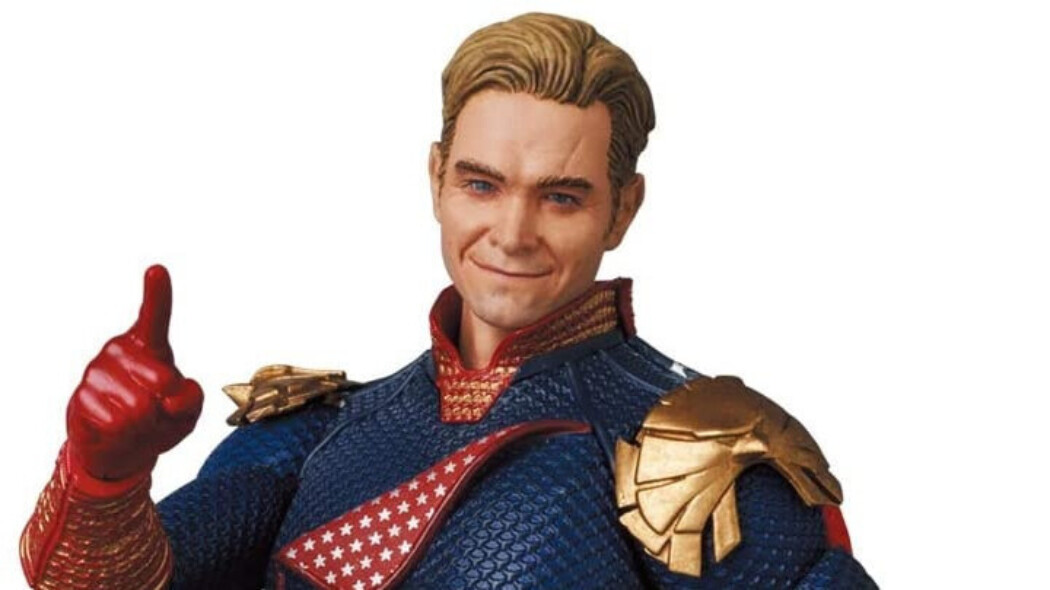 An Unlikely Action Figure: The Boys' MAFEX Homelander