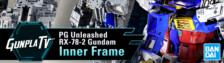 Gunpla TV – PG Unleashed RX-78-2 Gundam Inner Frame