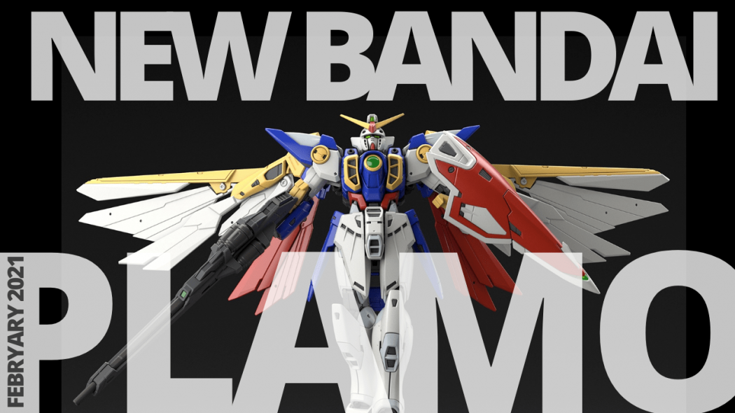 New Bandai Gunpla & Plamo Announcements – February 2021