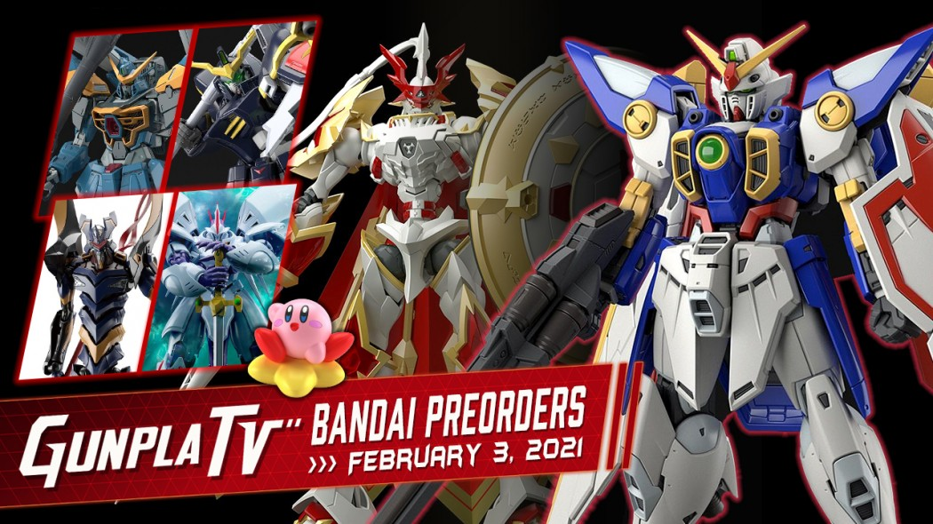 Gunpla TV – New Bandai Plamo Preorders for February 3, 2021