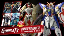 Gunpla TV – New Bandai Plamo Preorders for February 3, 2021