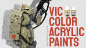 VIC Color: Stunning Hand-Painted Plamo