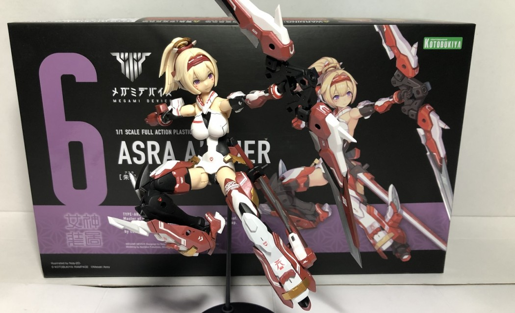 Megami Device Project Part 4: Asra Archer Armored Ver.
