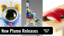New Plamo Arrivals For May 28, 2021