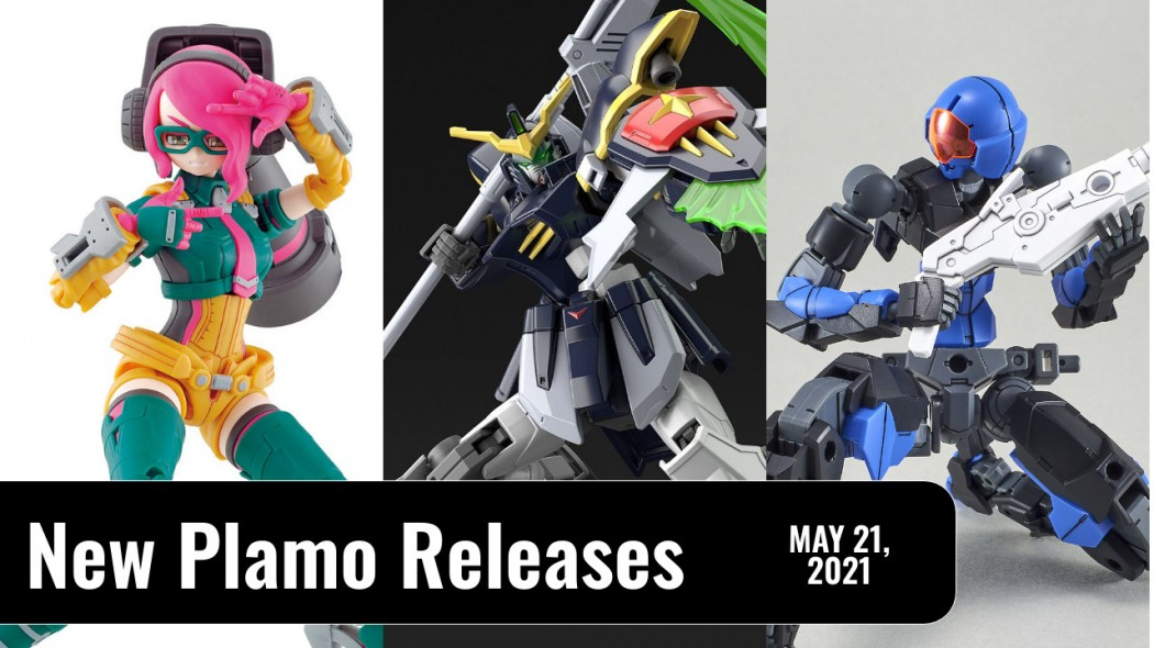 New Plamo Arrivals For May 21, 2021