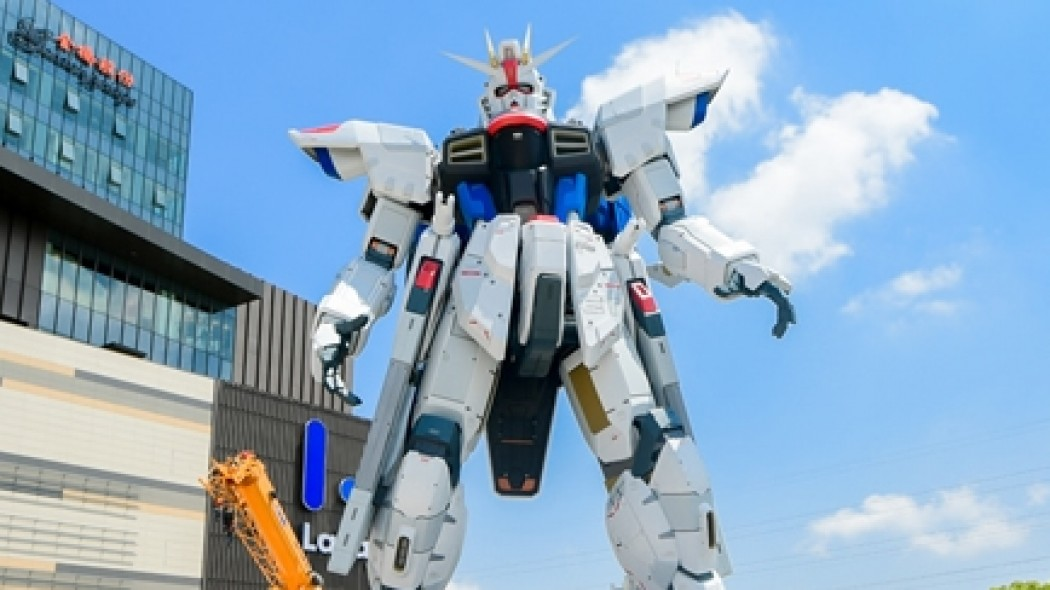 The First Overseas Full-Scale Gundam Is Complete
