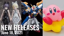 New Plamo Arrivals For June 18, 2021