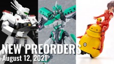 New Plamo Preorders For August 12, 2021