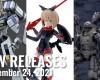 New Plamo Arrivals For September 24, 2021