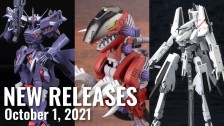 New Plamo Arrivals For October 1, 2021