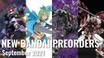 New Bandai Gunpla & Plamo Preorders – September 2021