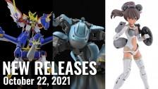 New Plamo Arrivals For October 22, 2021