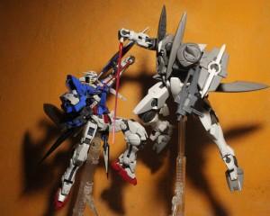 Gundam Exia vs GN-X
