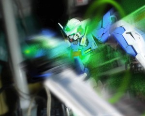 Gundam Exia's Ignition Mode