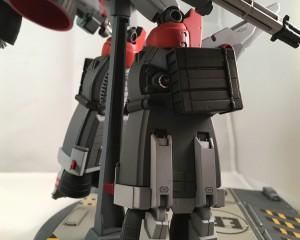 Left side - leg details