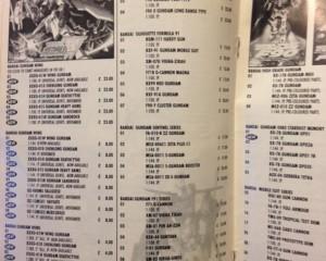 1995 Catalouge Modle Kits Comit Minatures 1
