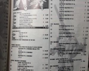 1995 Catalouge Modle Kits Comit Minatures 4